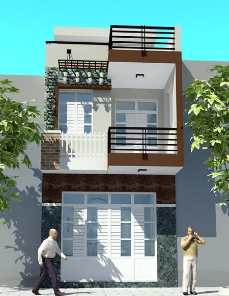 Bán nhà mặt tiền đường, 4X16m, đúc thiệt, Sổ Hồng riêng, Giá 1tỷ 400tr