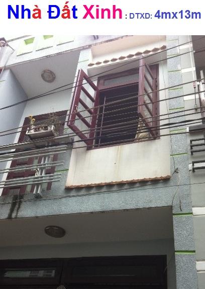 Bán nhà gần Đ.Ngyễn Văn Quá,cách QL1A 100m,DT 4x13m, 1 lầu đúc,Giá 1tỷ 50triệu